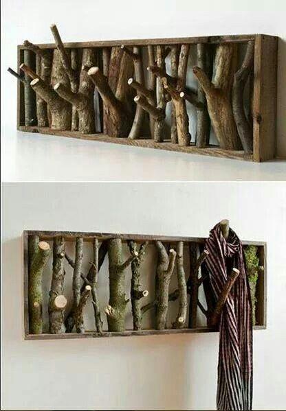 Diy Garderobe porte manteau tableau furniture ideas project ideas