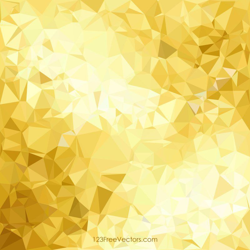 golden geometric polygon background graphics gold
