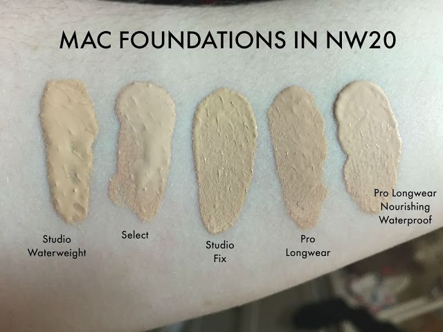 TotalMakeUpAddict: MAC Foundations in NW20 | Make Up