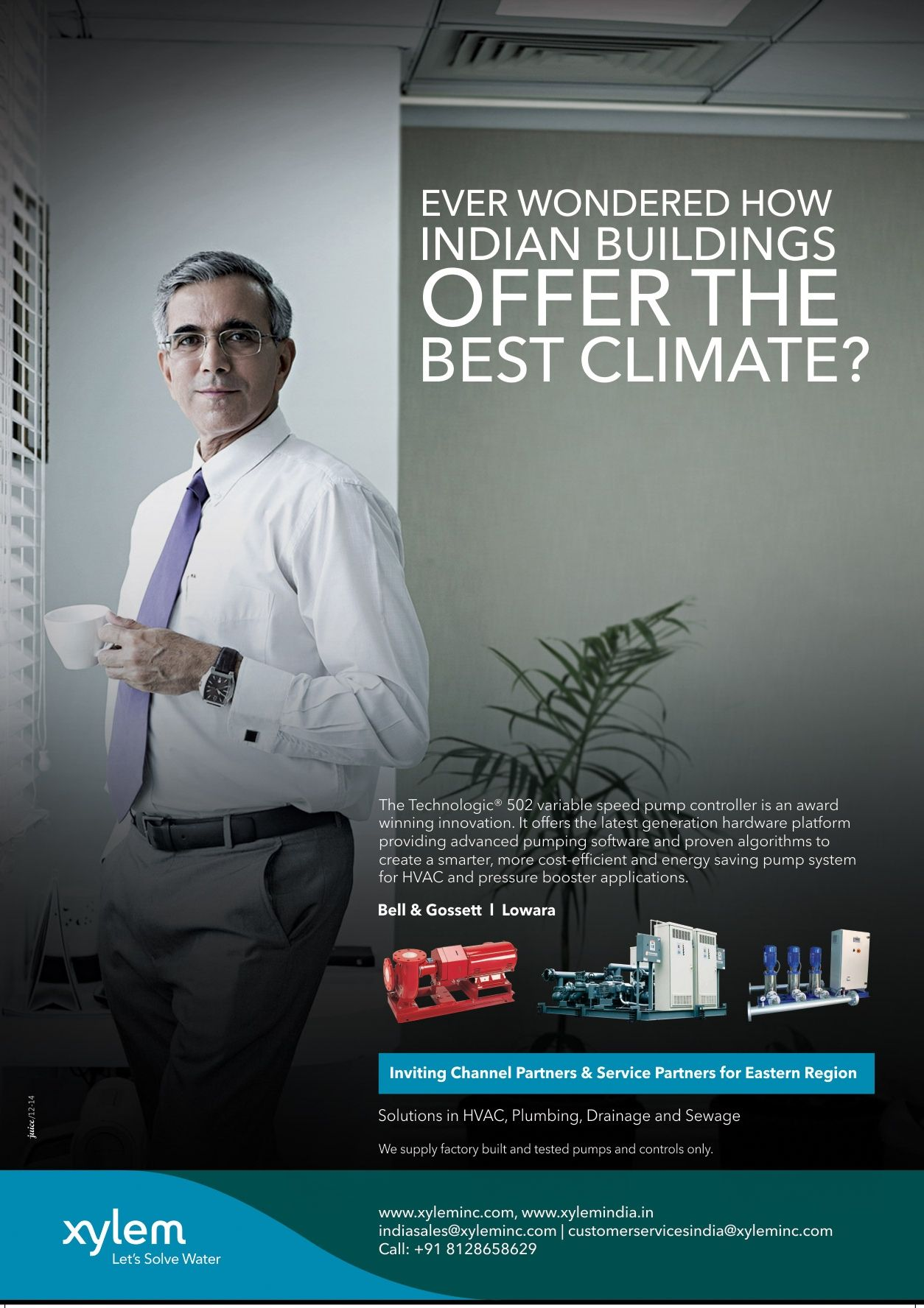 Magazine Ad For A Pumping Fluid Technology Company Save Energy Algorithm Magazine Ads