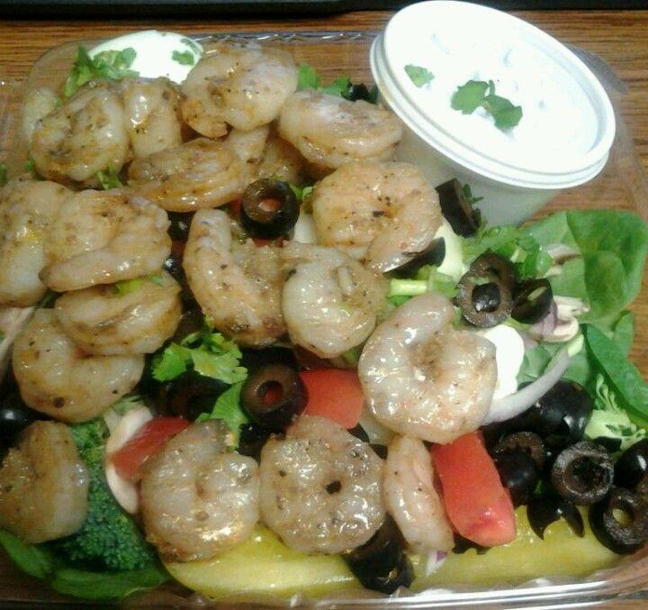 Shrimp Spinach Salad!