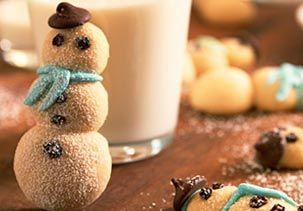 Darling doughnut snowmen!!!!
