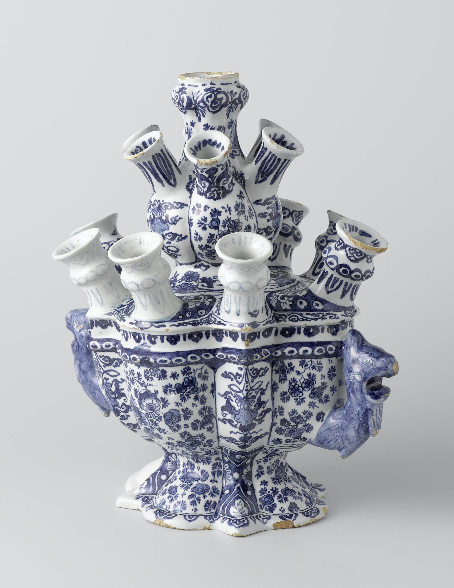 delft blue tulip vase ca 1690 1720 rijksmuseum. Black Bedroom Furniture Sets. Home Design Ideas