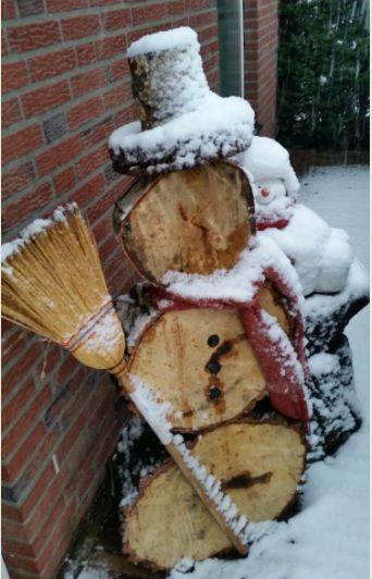Unmeltable sneeuwman...