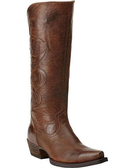 Ariat Lyric Cowgirl Riding Boots - Snip Toe | Boots | Pinterest ...