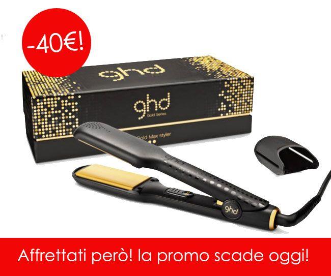 Non perdere l'occasione di uno sconto di 40€ sulle #piastre #GHD! La promo scade OGGI! http://shop.sereni.net/altri-brand/ghd/classic-stylers.html #capelli #hairstraightener