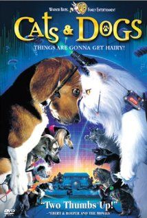 Cats Dogs 2001 Cat Movie Dog Movies Dog Cat