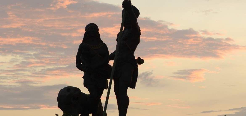 El próximo 23 de julio se inaugurará el monumento a Guayas y Quil