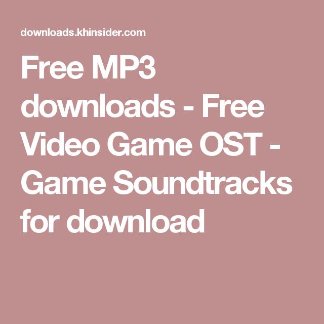 video game soundtracks download
