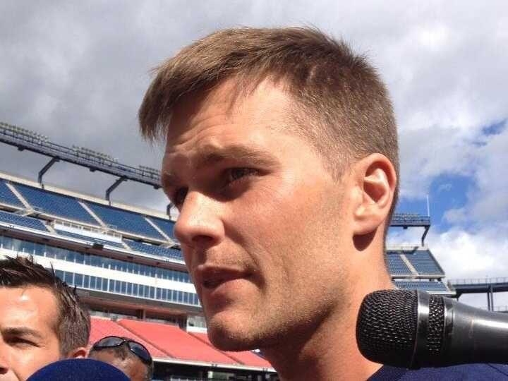 Tom Brady Short Hair 2014