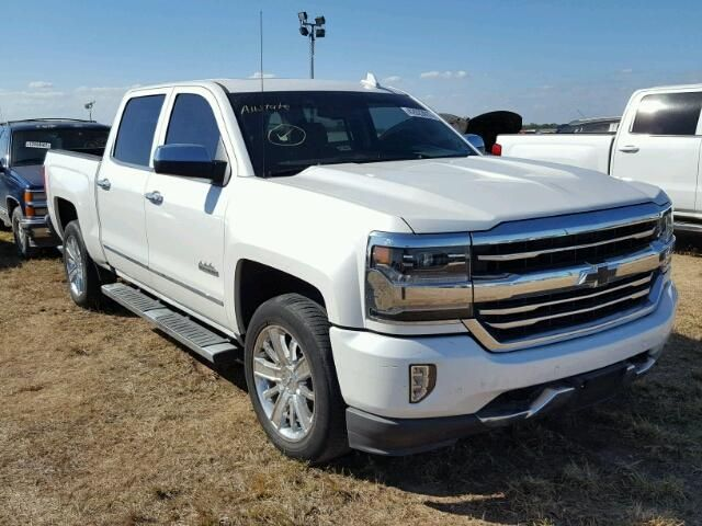 Salvage 2017 Chevrolet Silverado High Country Salvage Forsale