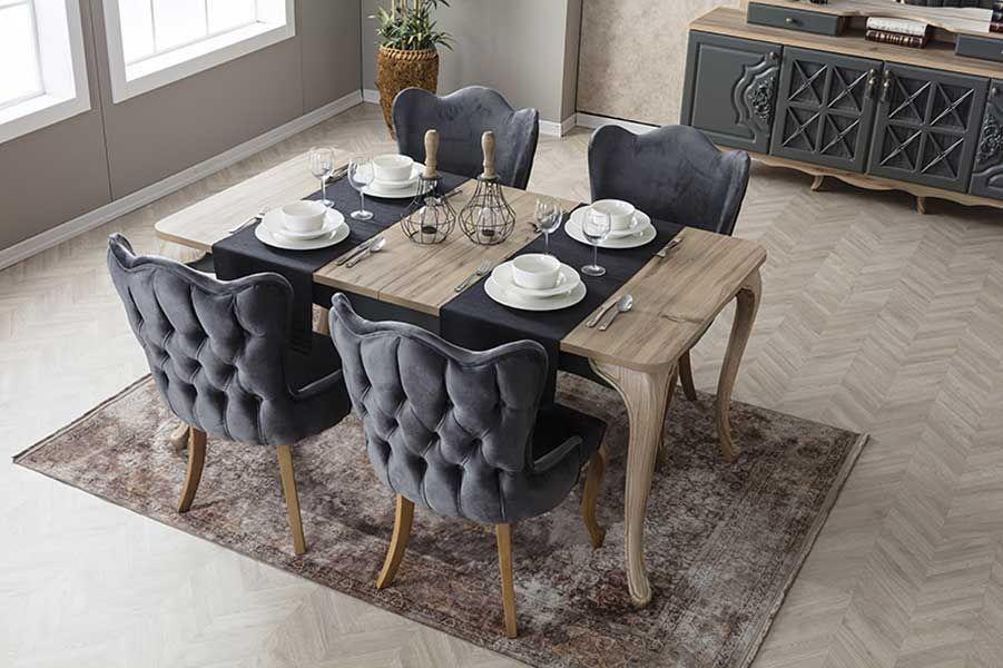 weltew balat salon masa sandalye takimi furniture home decor home