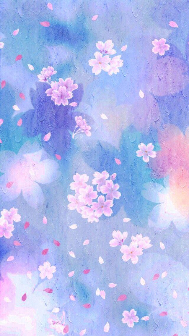 Watercolor sakura