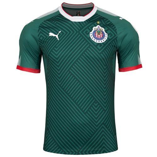d306245ec PUMA Kids Chivas De Guadalajara 17 18 Third Jersey Green