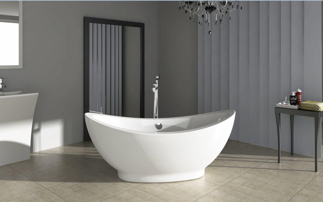 Fine Fixtures Freestanding 28 X 65 Bathtub