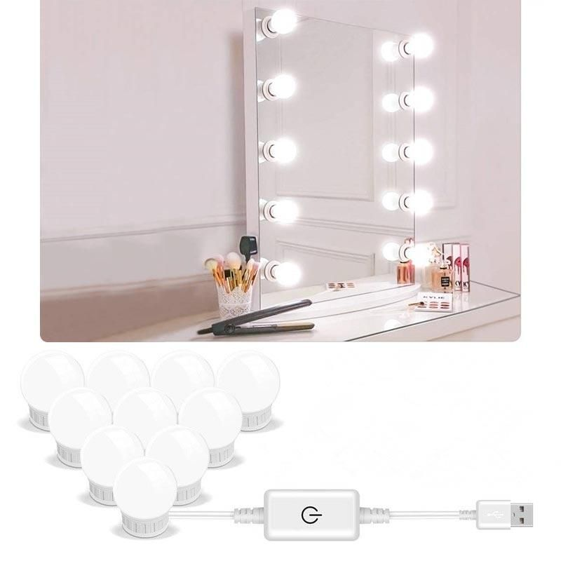 5v Led Mirror Light Bulbs In 2020 Dressing Table Mirror Mirror