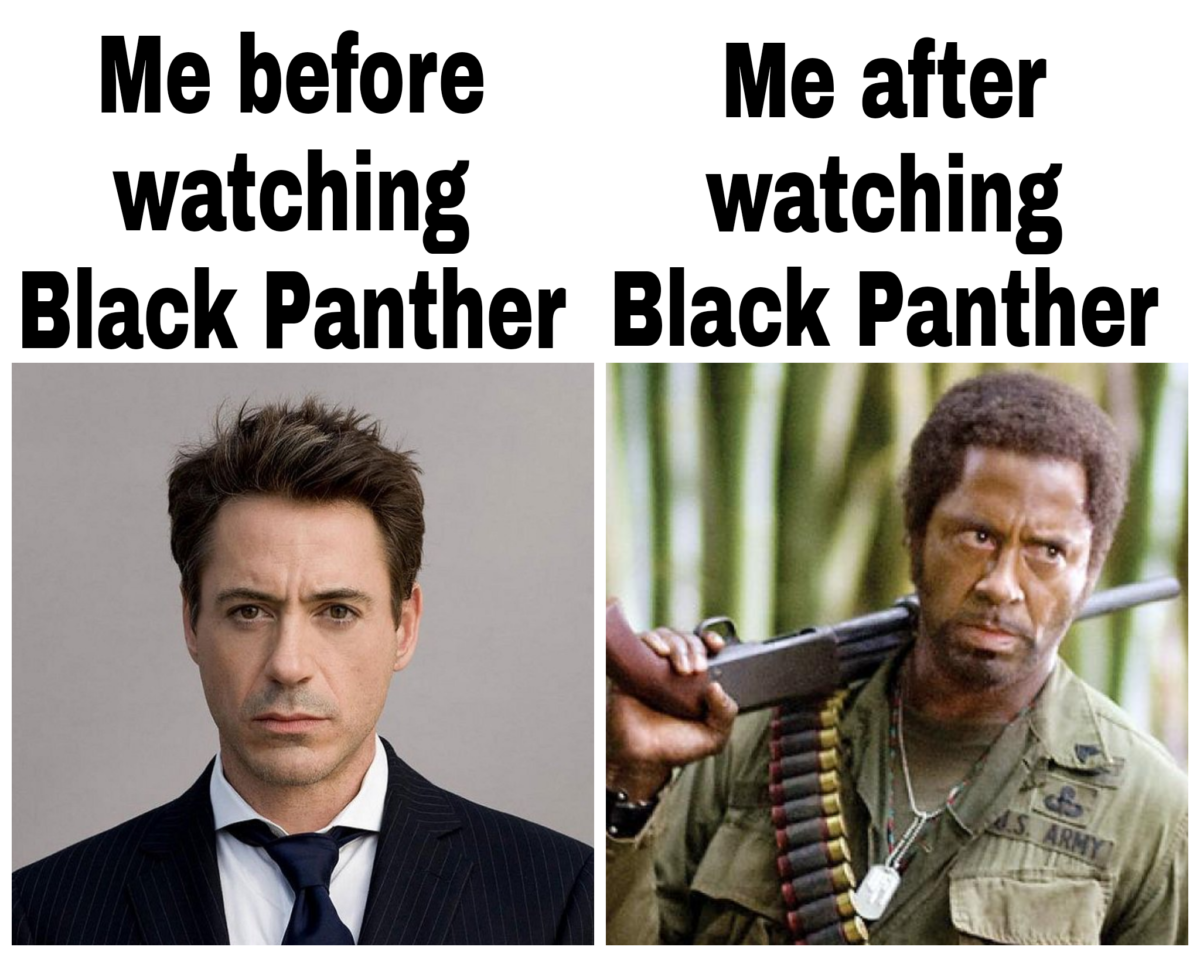 Funny Meme Black Panther : I saw black panther yesterday black panther memes and funny things