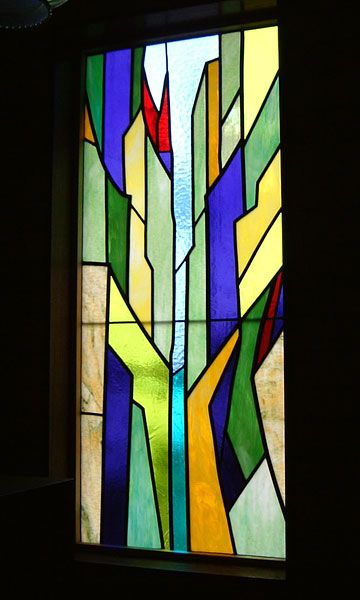 Stained Glass Saitama Obama House Design   Obama