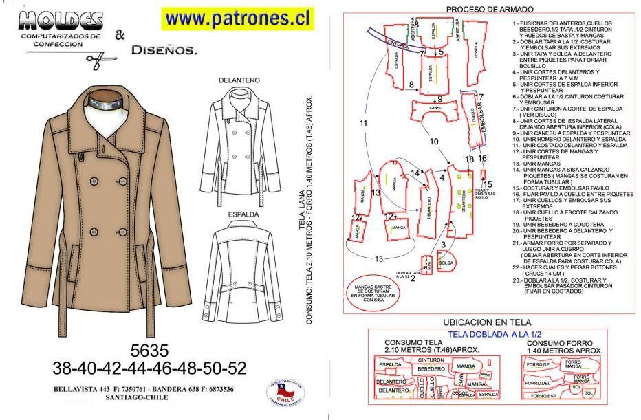 patrones | DIY Tijeritas e hilos | Pinterest | Ropa, Costura y ...