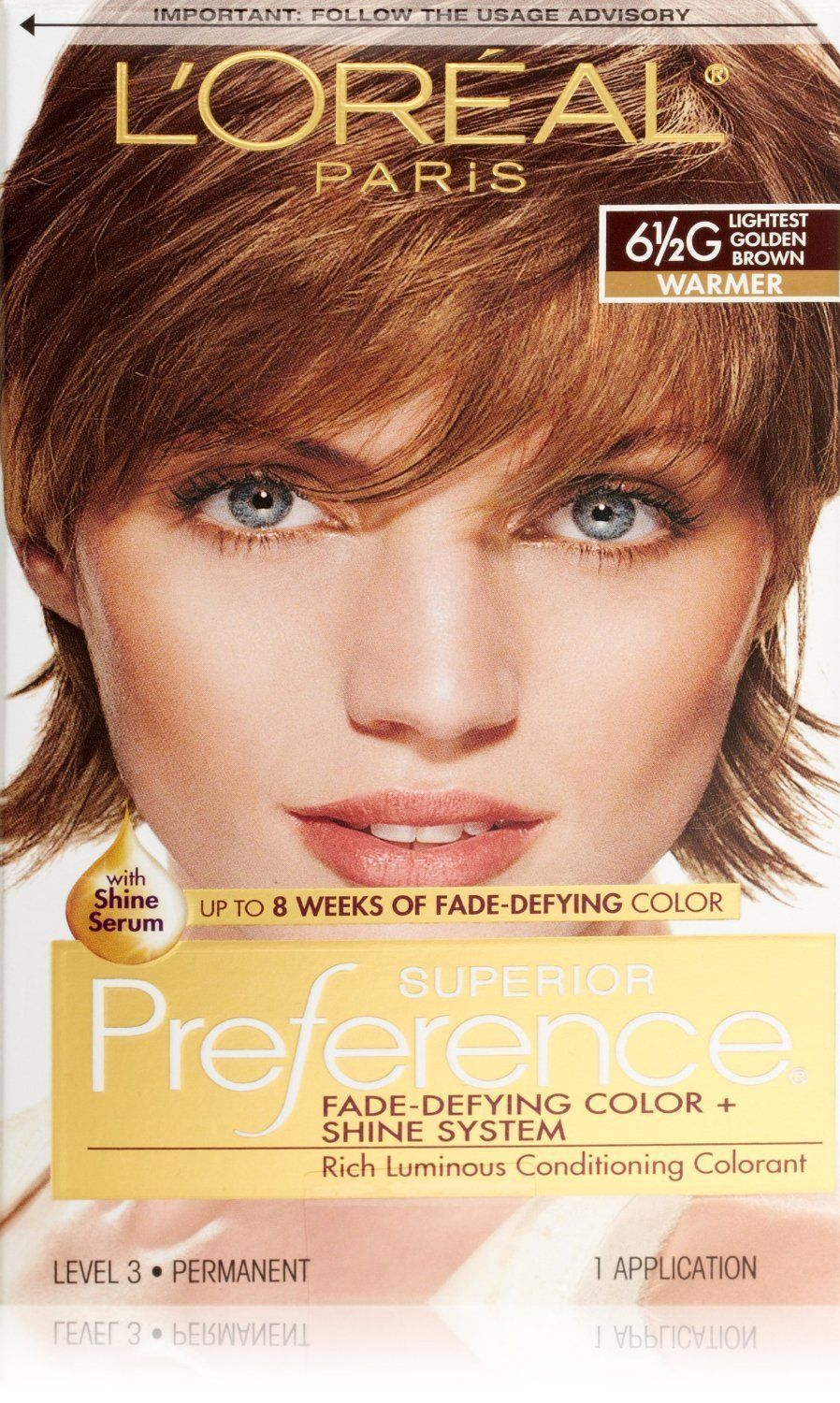 Loreal Preference 65g Lightest Golden Brown Products Pinterest