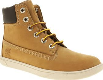 Timberland Tan Groveton 6 Inch Boys Junior It wont be their shoes that slow  them down