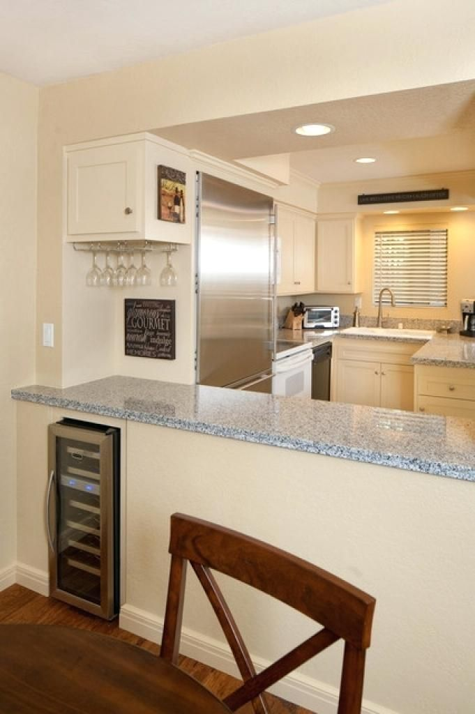 Kitchen Dining Room, Dining Room To Kitchen Pass Through