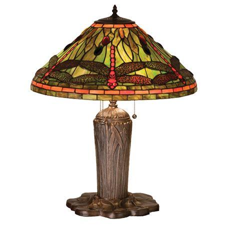 One Of Tiffany Studios Most Beloved Dragonfly Design Modeled After