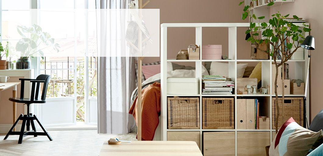 Image Result For Kallax Regal Raumteiler Wohnung