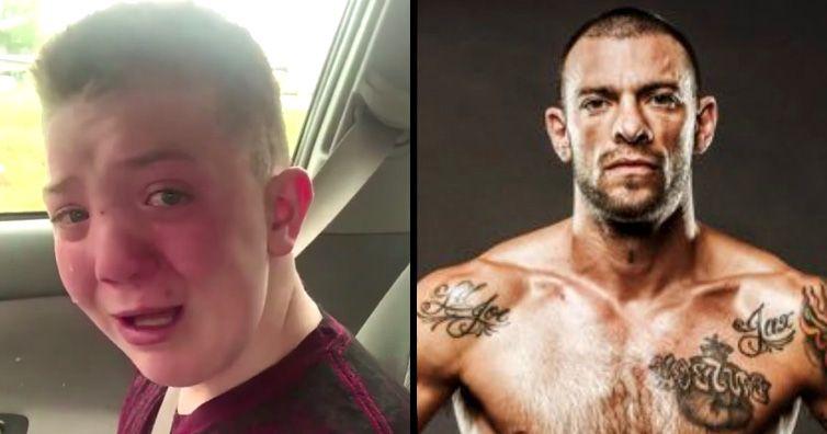 mma fighter calls viral bullying video a scam copypasteads com rh pinterest com