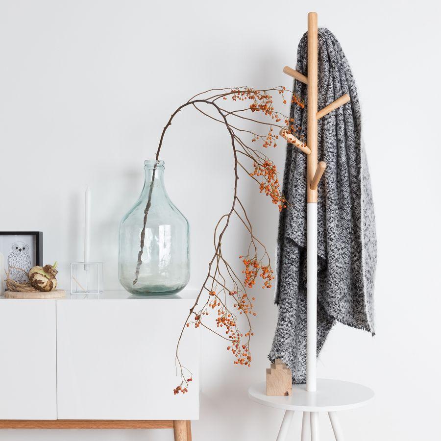Garderobenständer Table Tree - Weiß / Beige  Kleiderständer