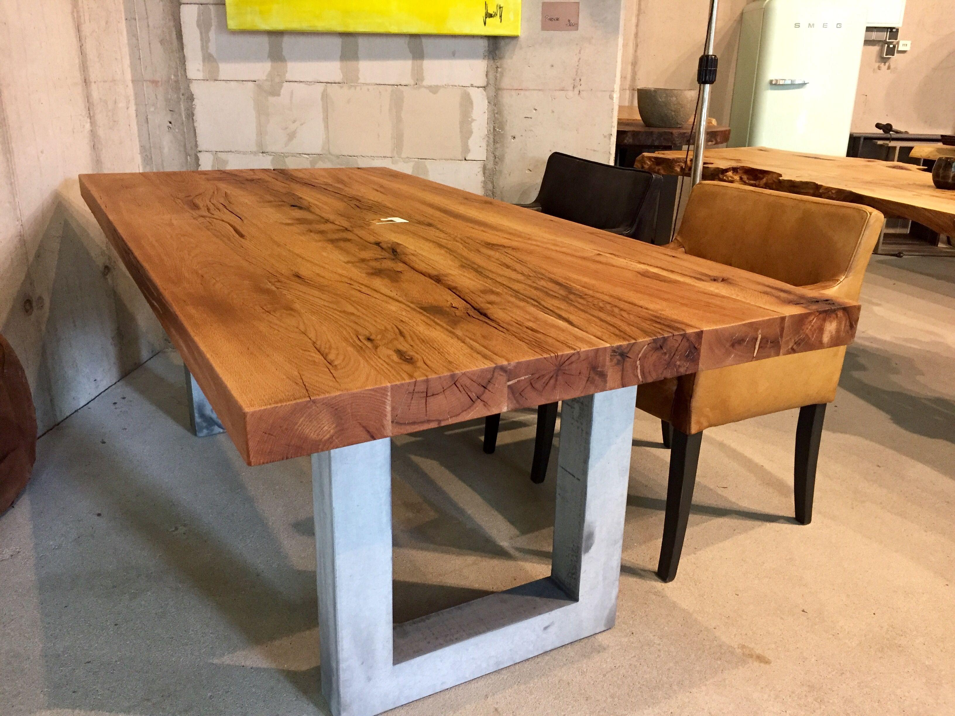 Esstisch Massivholztisch Dinningtable Table Holztisch Eichentisch ...