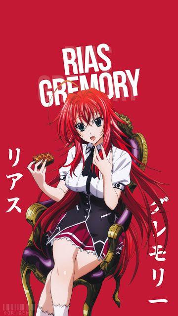 Rias Gremory Personajes De Anime Wallpaper De Anime Y