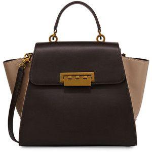 Zac Zac Posen Eartha Iconic Colorblock Leather Satchel Bag