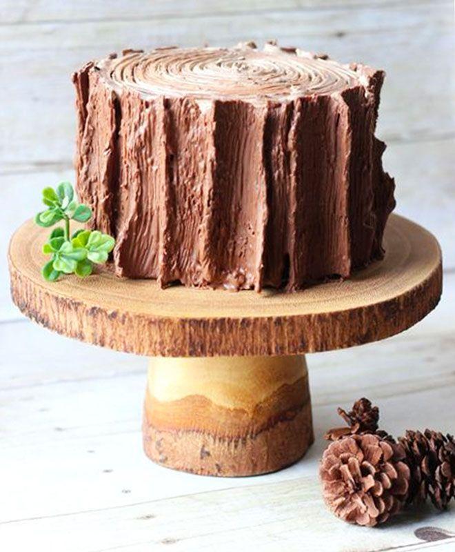 еще этот торт на деревянную свадьбу фото для творчества