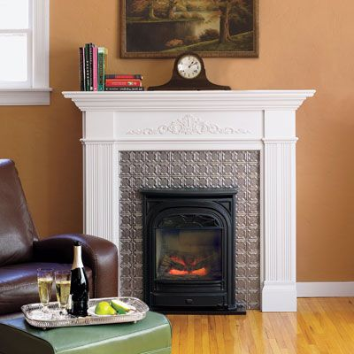 88 Quick and Easy Decorative Upgrades | Fireplace surrounds, Tiled ...