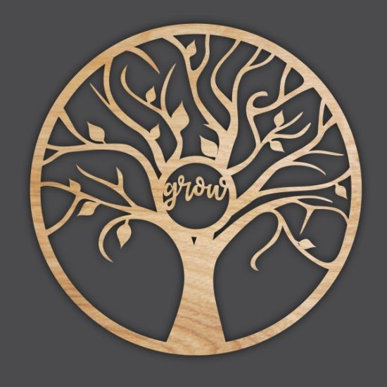 Product Laser Cut Tree Template Online Vector Design Download Free