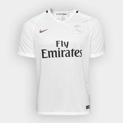 4b8bbdd006233 Camisa Paris Saint-Germain Third 16 17 s nº Torcedor Nike Masculina ...