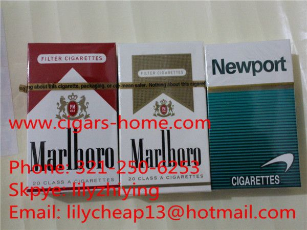 We sale newport and marlboro cigarettes from www cigars-home