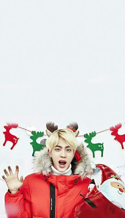Merry Christmas A R M Y Bts In 2018 Bts Bts Jin Bts Wallpaper