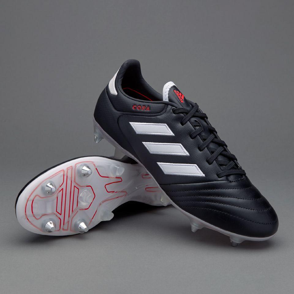 adidas Copa 17.2 SG - Mens Boots - Soft Ground - Core Black White Core Black 7f5b91b4b