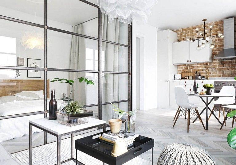 35 Stunning Studio Apartments In Three Modern Styles Apartment Decor Studio Apartment Apartment Design