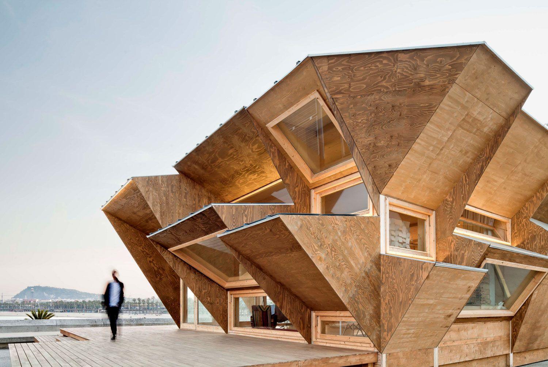 Stories On Design Temporary Timber Structures Yellowtrace Nachhaltige Architektur Architektur Hausbau Ideen