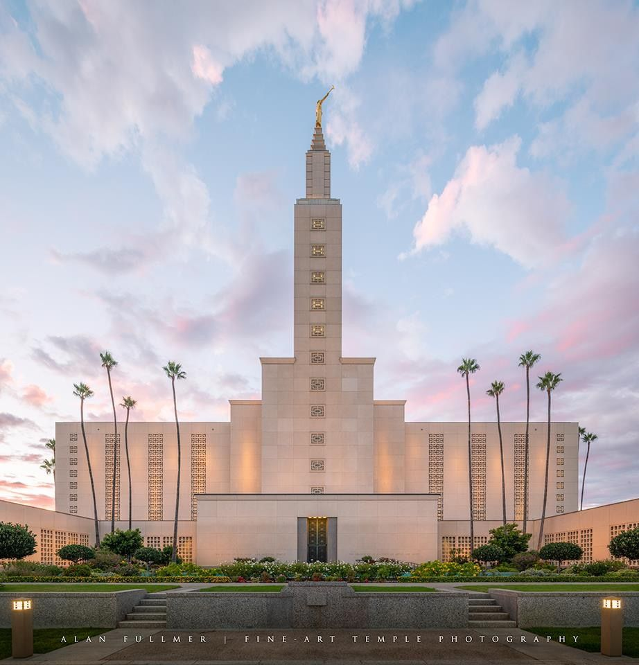 Los Angeles Temple Mormon Temples Los Angeles Temple Lds Temples