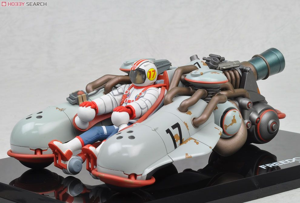 Freedom Project Tricycle Vehicle Racing Ver Completed Item Picture3 大友克洋 模型 乗り物