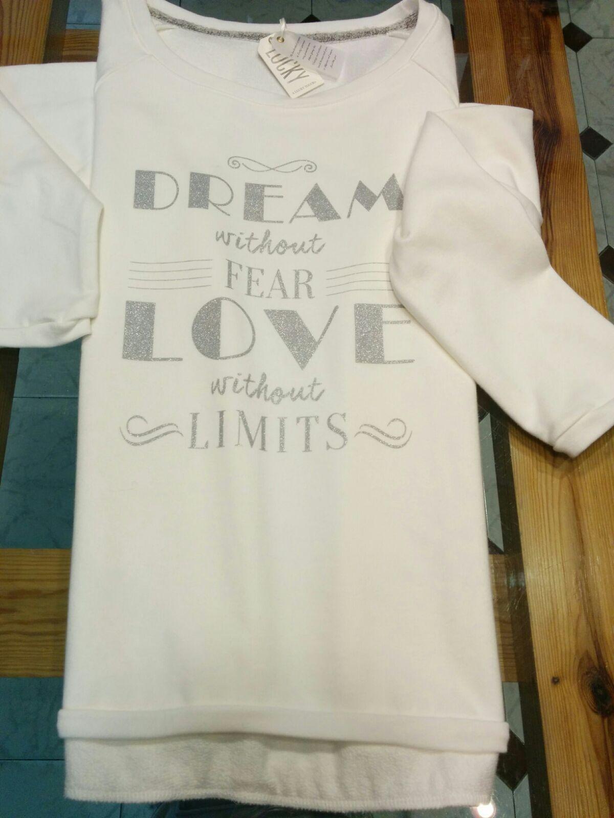 Una de las prendas más deseadas... #Sudadera Lucky. ANTES 55 € / AHORA 38 €. #dream #love #nolimits