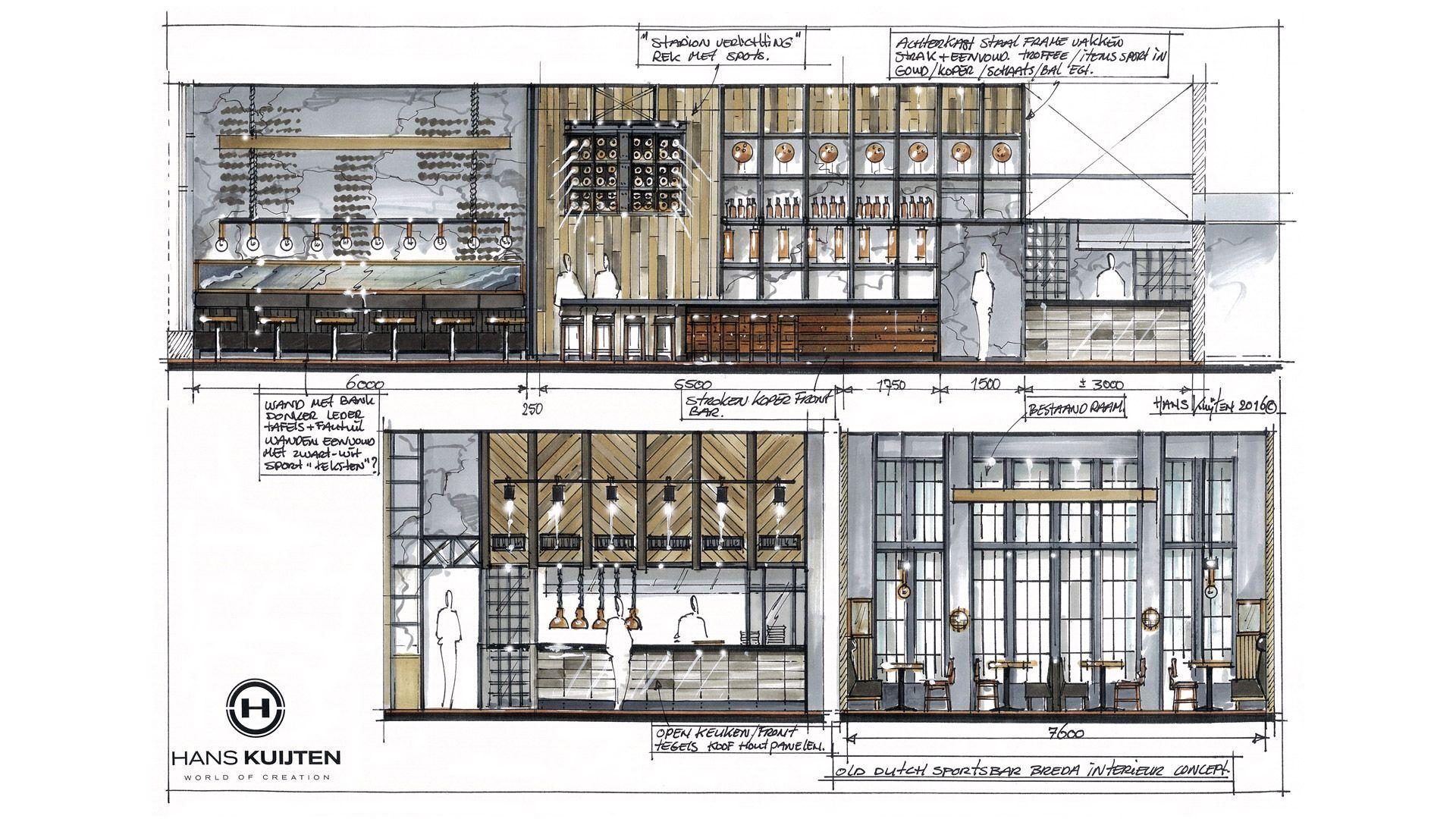 Sportsbar Restaurant Old Dutch   Architecture, Interieur ...