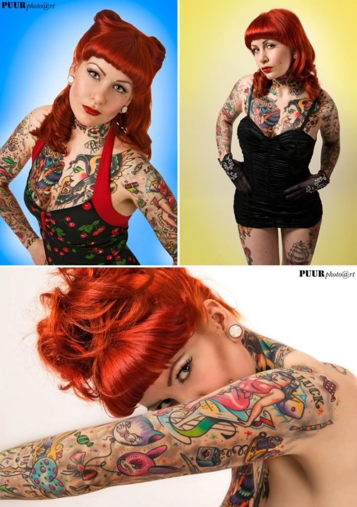 Tatuajes Pin Up 2da parte-tatuajes pin up/rockabilly para mujeres! | tattoo world