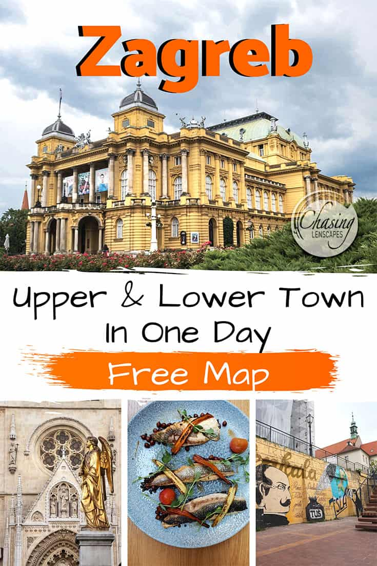 Things To Do In One Day In Zagreb Walking Tour And Tips Croatia Travel Europe Travel Destinations Europe Travel