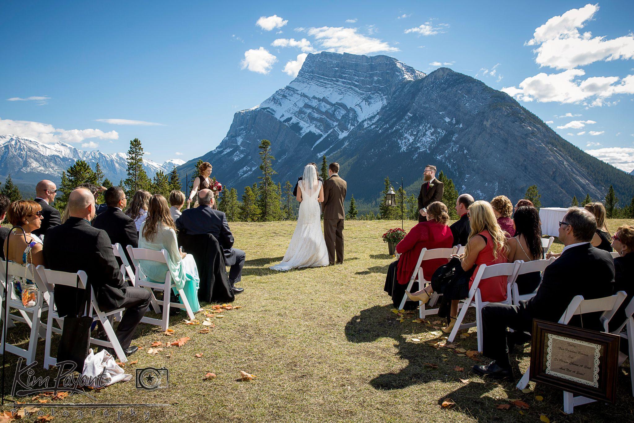 Banff Outdoor Wedding, Tunnel Mountain Reservoir Outdoor