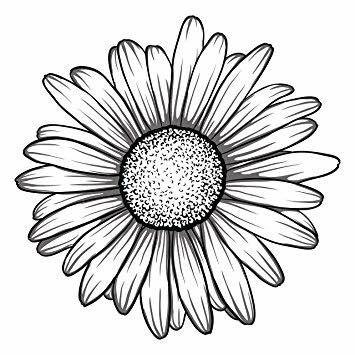 Daisy Tattoo Image By Aquamarine Jewelry On E Embroidery Pattern